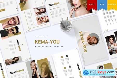 Kema-You - Powerpoint, Keynote, Googleslide