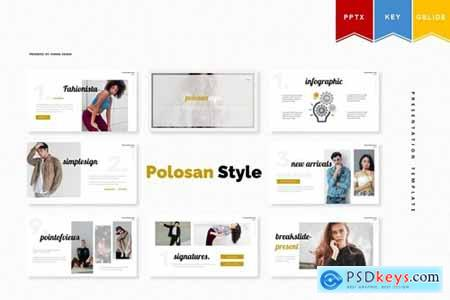 Polosan Style - Powerpoint, Keynote, Googleslide