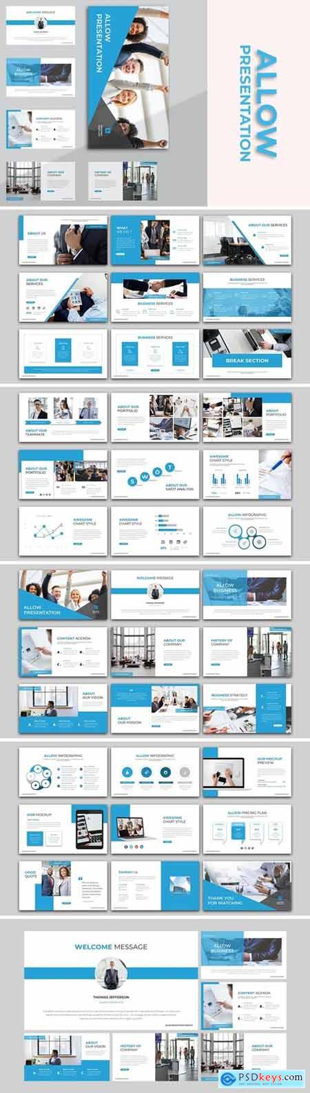Allow - Business Powerpoint, Keynote and Google Slides Templates