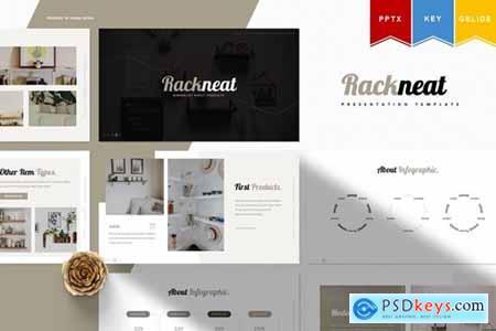 Rackneat - Powerpoint, Keynote, Googleslide