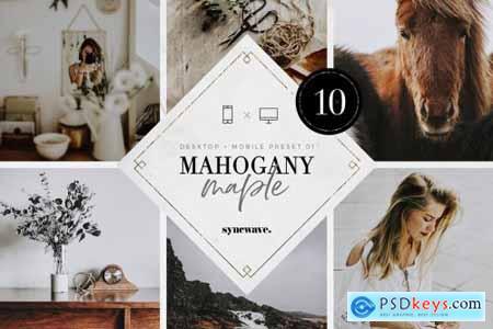 Mahogany & Maple Lightroom Presets 5251100