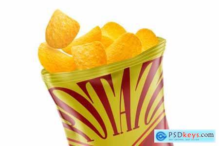 Potato Chips Mockup 5224073