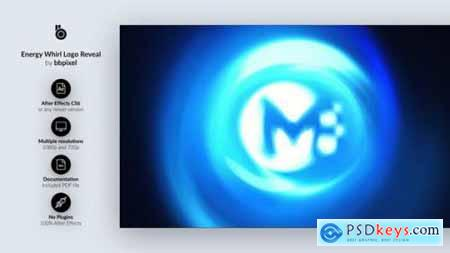 Energy Whirl Logo Reveal 27540429