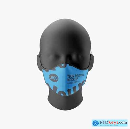 Medical face Mask mockup 5224041