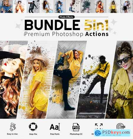 Actions Bundle 5in1 27901211
