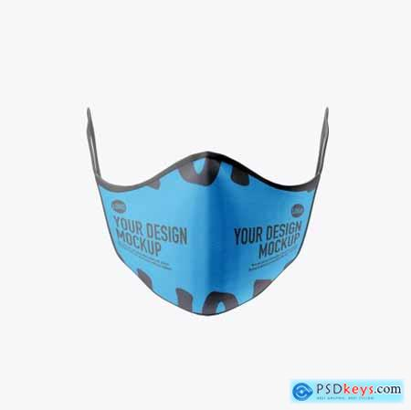 Medical face Mask mockup 5239618