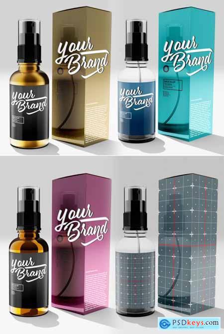 Spray Bottle Mockup 369284978