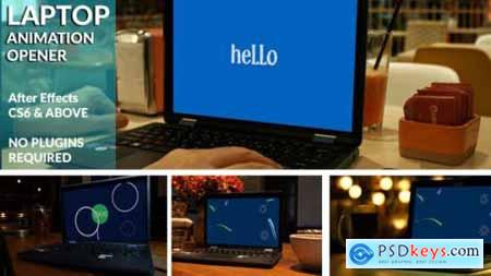 Animated Laptop Opener 20970542