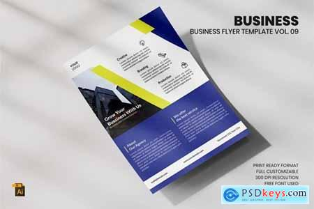 Business Flyer Template Vol. 09