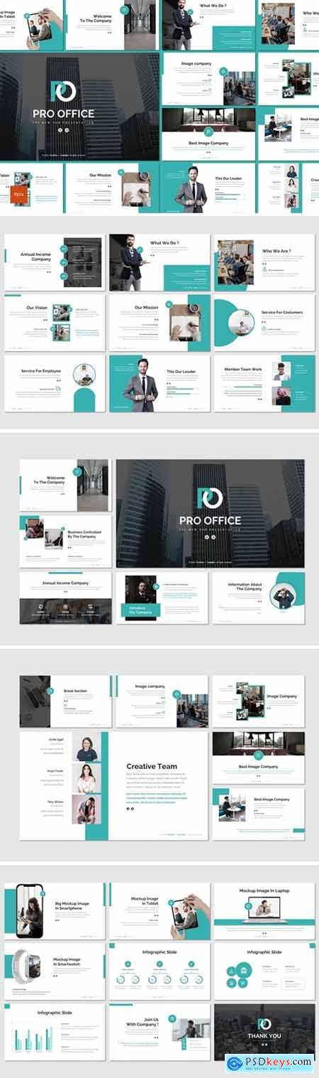 Pro Office - Business Powerpoint, Keynote, Googleslide Template