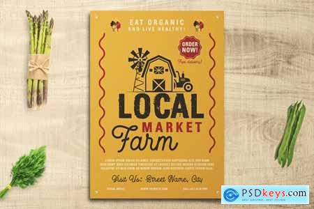 Local Farm Market Flyer