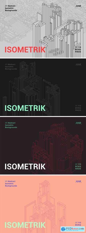 Isometrik - Abstract Isometric Backgrounds