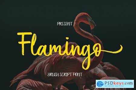 Flamingo Brush Script