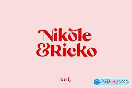 Kelly Bold - Gorgeous Sans Serif Typeface