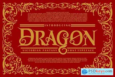 Dragon Victorian Font Typeface