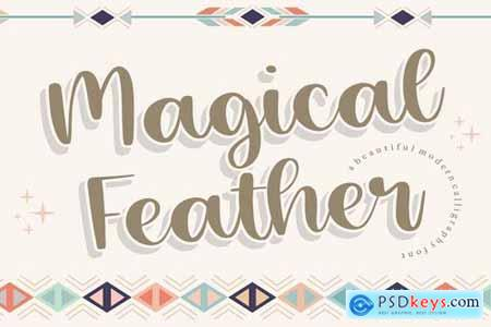 Magical Feather YH - Modern Calligraphy Font
