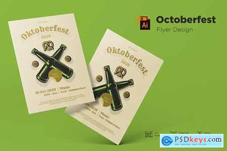October Festival Flyer Design Template