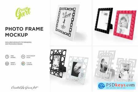 4 PSD Photo Frame Mockup 2332093