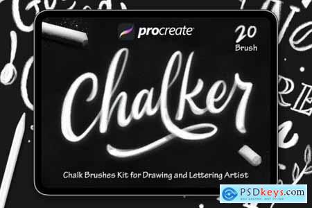 Chalker - Procreat Brushes