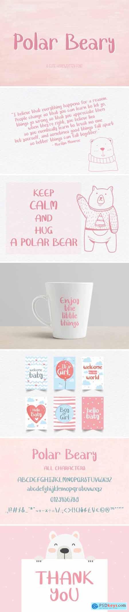 Polar Beary Font