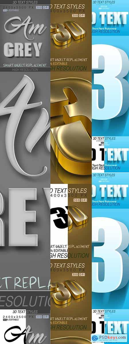 30 Bundle 3D Text Mix 21_7_20 27809999