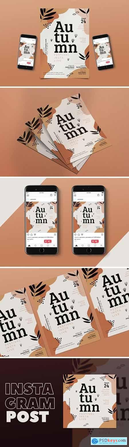 Autumn Music Flyer Pack