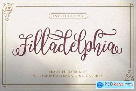 Filladelphia - Beautiful Script 5237699