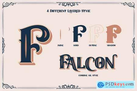 FIELDSTONE - LAYERED FONTS 5200941