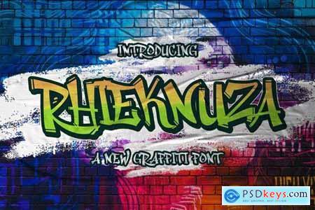 Rhieknuza - Graffiti Font 5232051