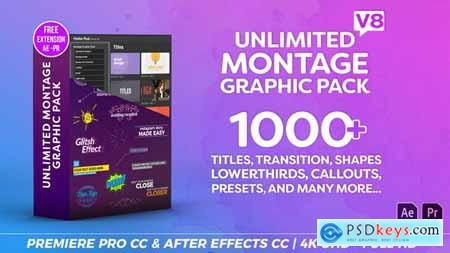 Montage Graphic Pack Titles Transitions Lower Thirds and more V8.2 23449895