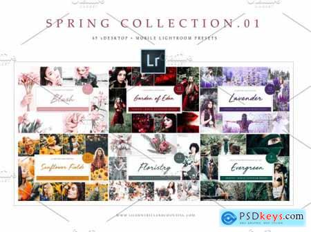 Spring Collection Lightroom Presets 4795125