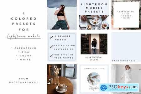 Stylish presets for Lightroom Mobile 4794481