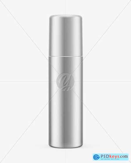 Metallic Spray Bottle Mockup 63797