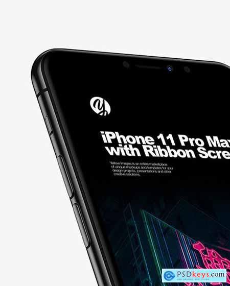 iPhone Pro Max with Ribbon Screen 63843