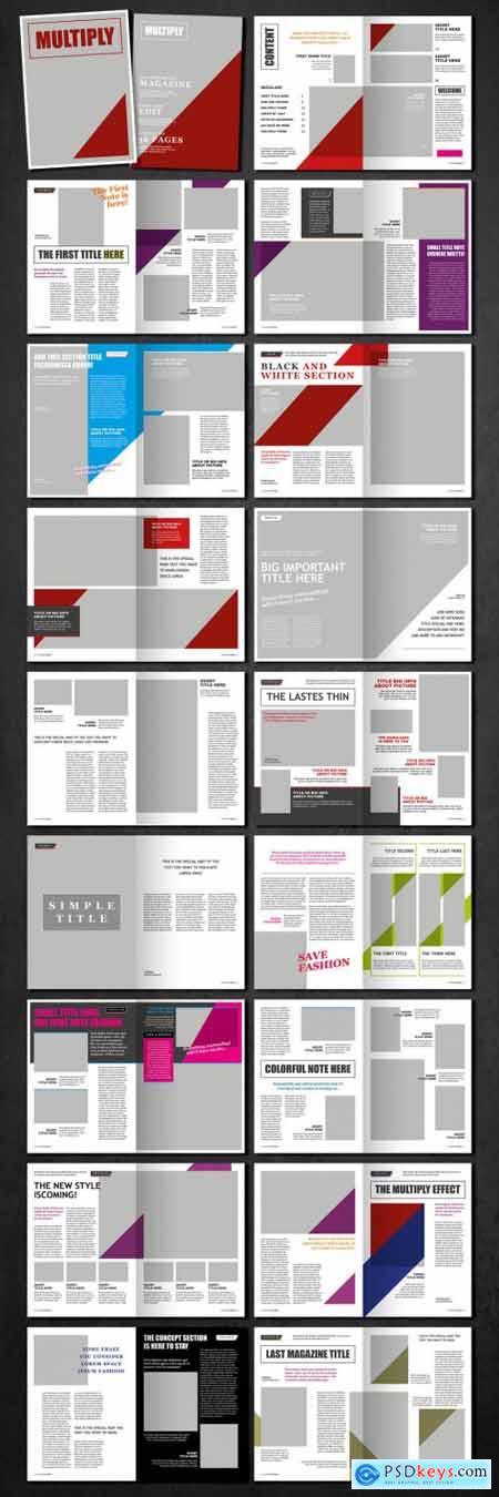 Multiply Magazine Layout 369983597