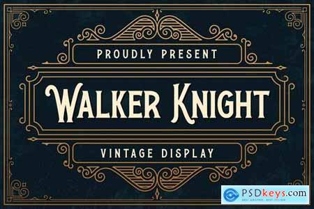 Walker Knight - Vinatge Display