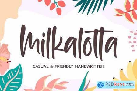 Milkalotta - Casual Handwritten