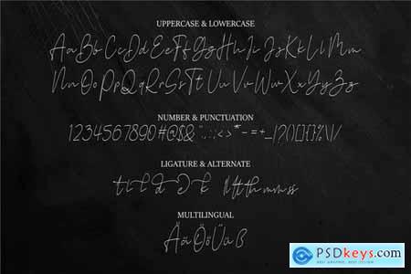 Stone Garden Script Font