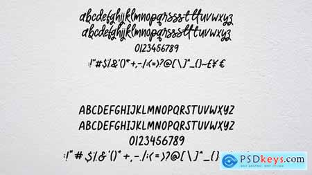 Sun Kissed - Handwritten Duo Font