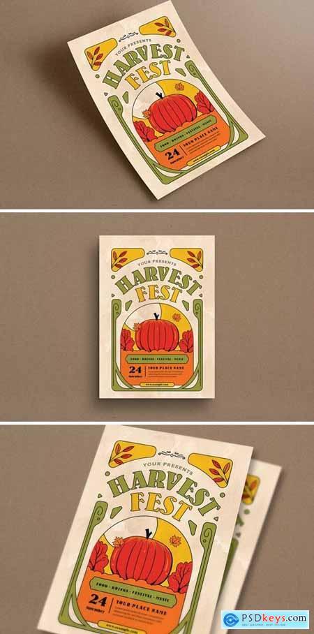 Harvest Festival Event Flyer