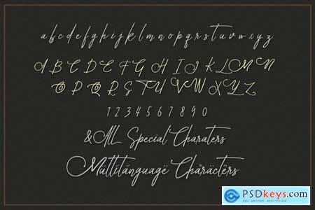 Avital Decorative Font Duo