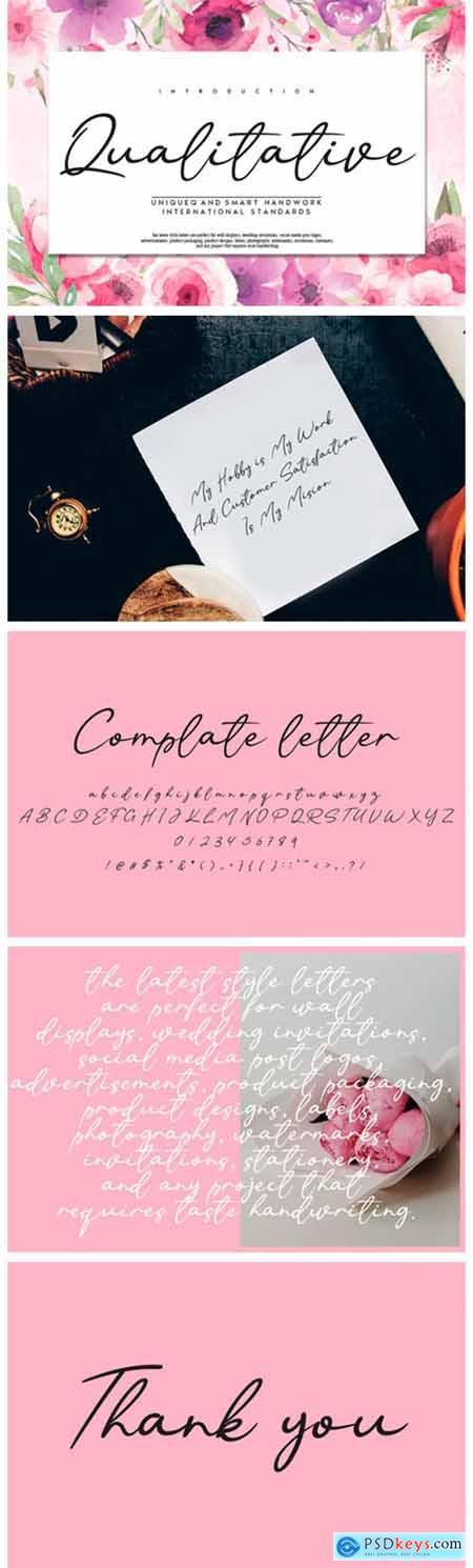 Qualitative Font