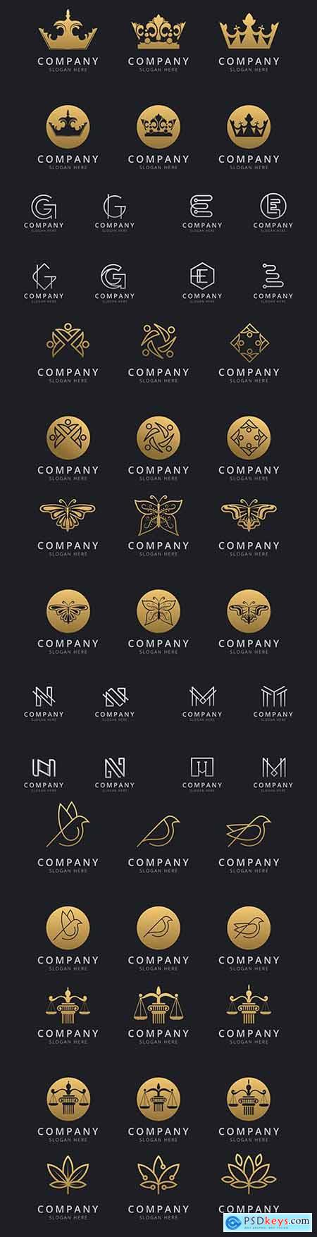 Brand name company logos business corporate design 36