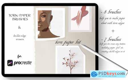 Torn Paper Kit for Procreate