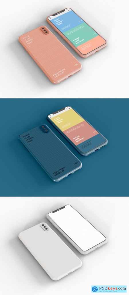 Phone Case and Smartphone Screen Mockup 369737987