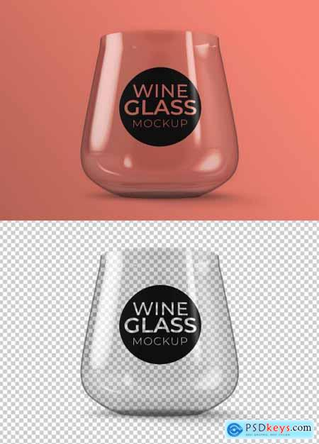 Wine Glass Mockup 370016740