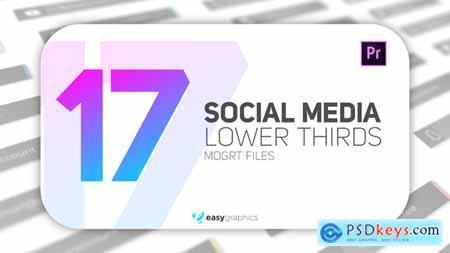 Elegant Social Media Lower Third 28040355