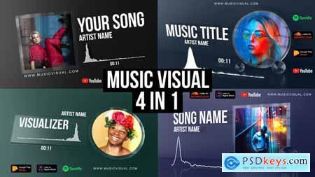 Glass Audio React Music Visualizer 27903768