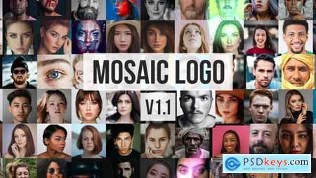 Mosaic Photos Logo Reveal 27907346