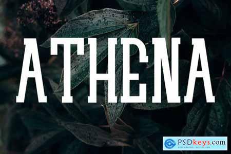 ATHENA - Serif Font